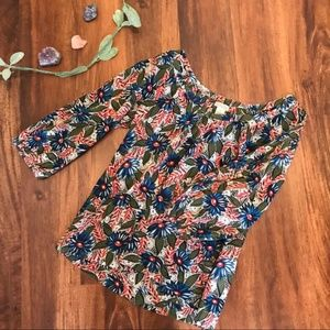 Lucky Brand | Floral V-neck Top